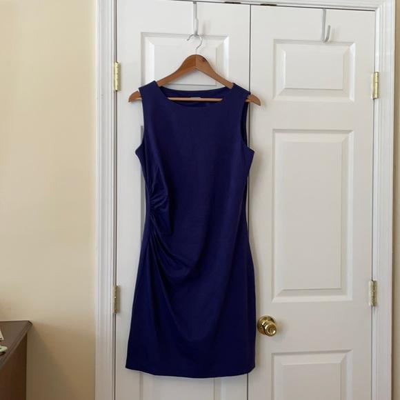 J. McLaughlin Navy Dress